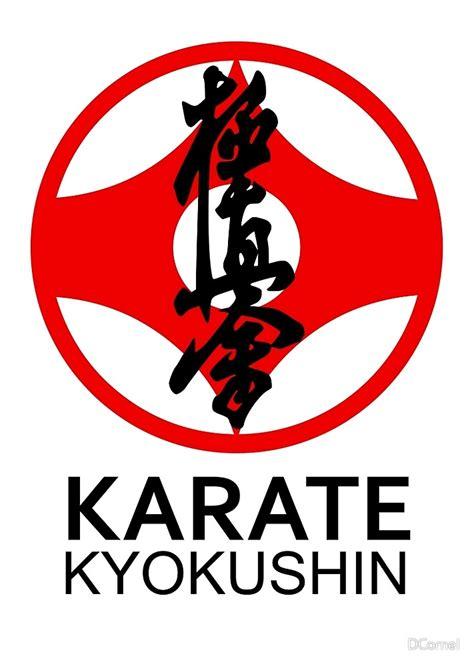 """Kyokushin Karate Kanji and Symbol "" by DCornel   Redbubble"