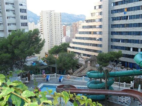 Rock Gardens Benidorm Back Of Hotel