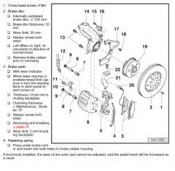 Manual Brake System Diagram Seat 2012 2016 Factory Repair Manual