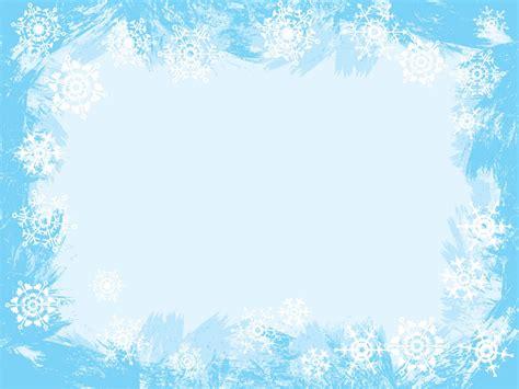 background layout design light colors light blue snowflake frame ppt backgrounds blue border