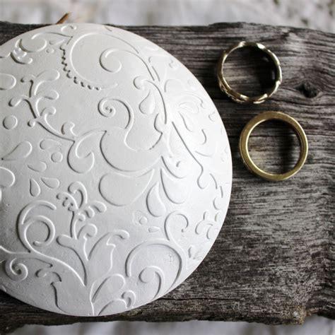 Wedding Ring Keeper by Botanic Wedding Ring Keeper Ring Pillow Alternative