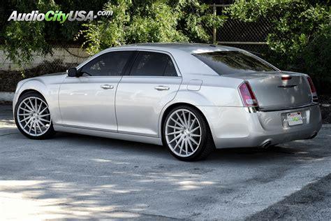 chrysler 300 on rims 2013 chrysler 300 c on 22 quot varro vd 15 brush silver wheels