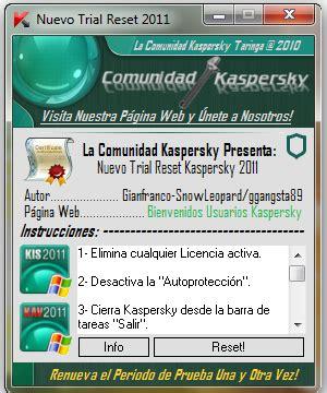 kis 2011 trial resetter free kaspersky keyfile trial reset