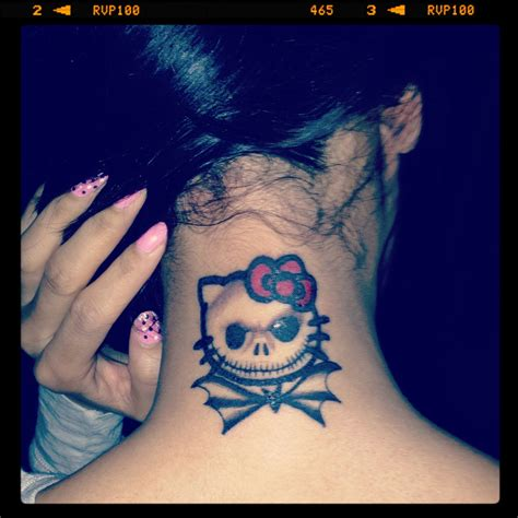hello kitty couple tattoos my new hello nightmare before my