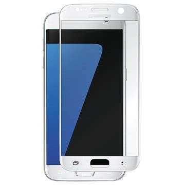 Capdase Tempered Glass Samsung S7 Clear White samsung galaxy s7 panzer fit tempered glass screen protector white