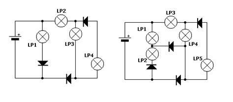 diode circuits projects diode puzzle tutorial and circuits diodes puzzle the diode hobby projects
