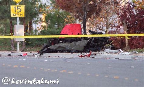 dies in car crash paul walker car after crash images