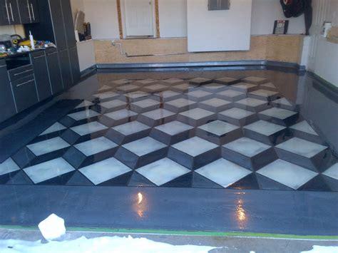 garage floor designs prolific concrete designs 187 gallery