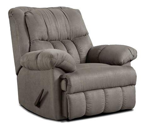 affordable recliners affordable furniture 2500 sensations microfiber recliner