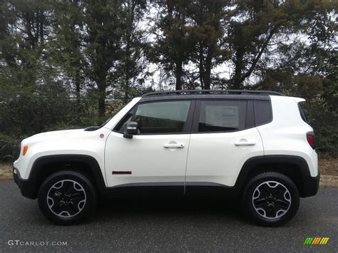 jeep trailhawk white 2017 alpine white jeep renegade trailhawk 4x4 118135894