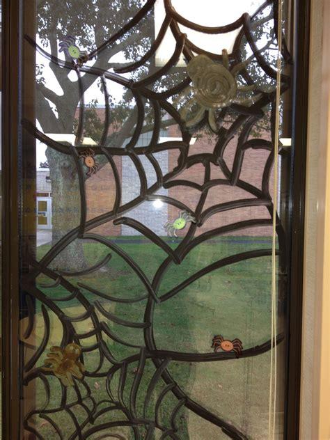 halloween window art classroom bulletin boards