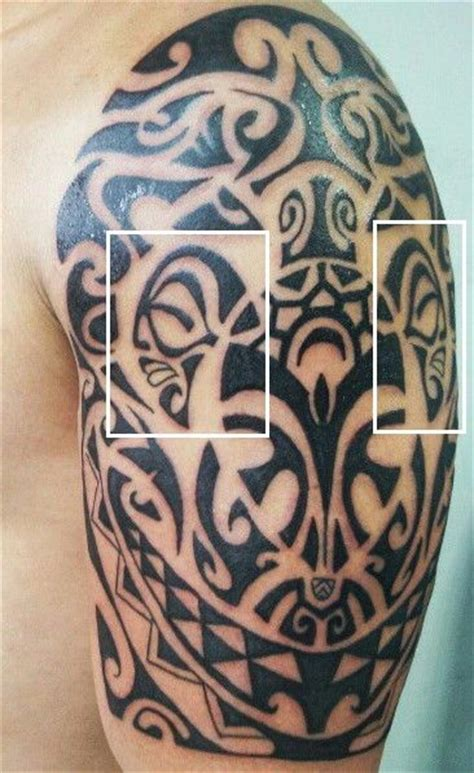 polynesian tiki tattoo designs best 25 polynesian meanings ideas on
