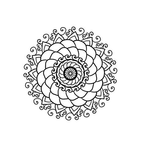 mandala coloring page   image  pixabay