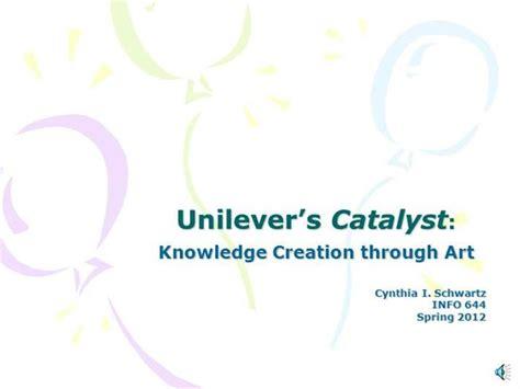 Unilever S Catalyst Authorstream Unilever Ppt Template Free