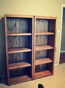 Diy Bookshelve White Kentwood Bookcases Diy Projects