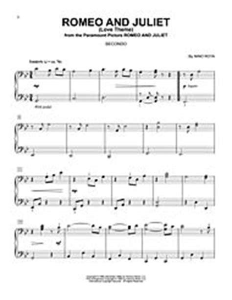 theme song from romeo and juliet movie download romeo and juliet love theme sheet music by nino