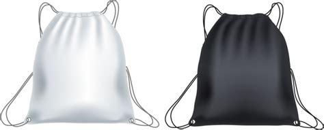 Tas Serut Backpack Drawstring 282 White backpack vector free vector 70 free vector for