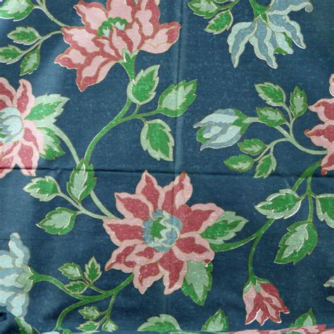 Large Print Upholstery Fabric by Print Upholstery Fabric Large Floral On Darker By Dartingdogfabric
