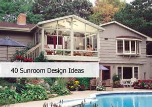 House Additions Floor Plans 40 awesome sunroom design ideas