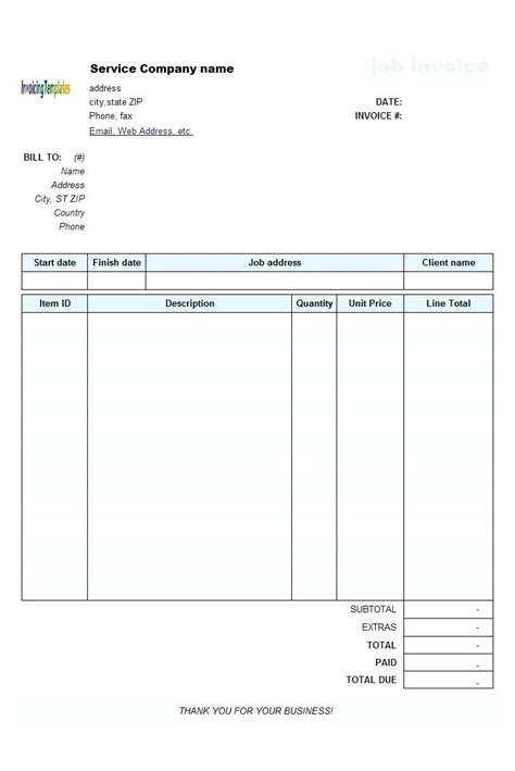 printable printable blank receipt form template