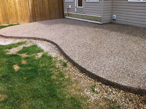 edmonton concrete patio next level concrete ltd