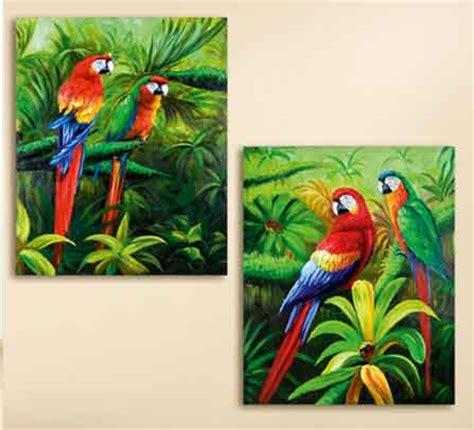 kinderzimmer bild papagei bild papagei sehr bunt 80 x 100 cm g38630 wanddekoration