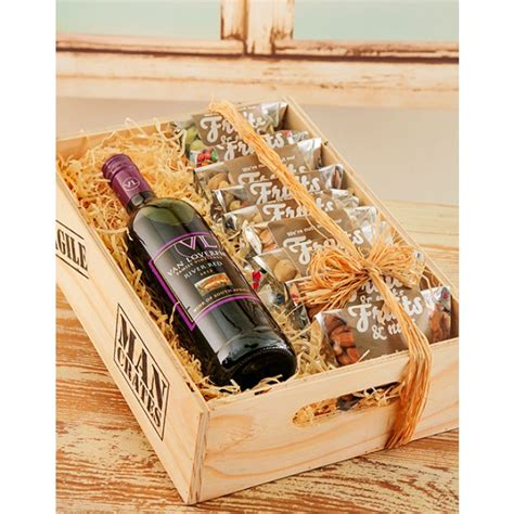 christmas baskets in south africa durban loveren wine nuts crate south africa inmotion flowers