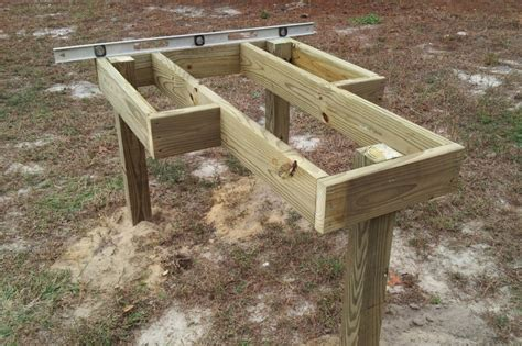 shooters bench diy shooting bench building plans plans free