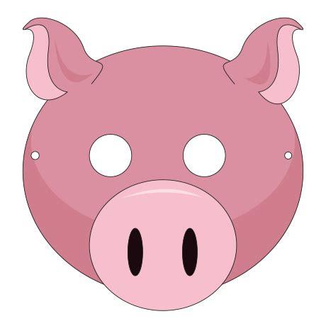 printable mask farm animals farm animals masks