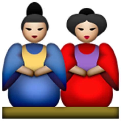 china doll emoji japanese dolls emoji u 1f38e u e438