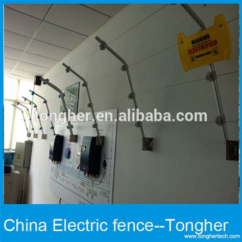 home electric fencing with alarm power wire circuit pulse