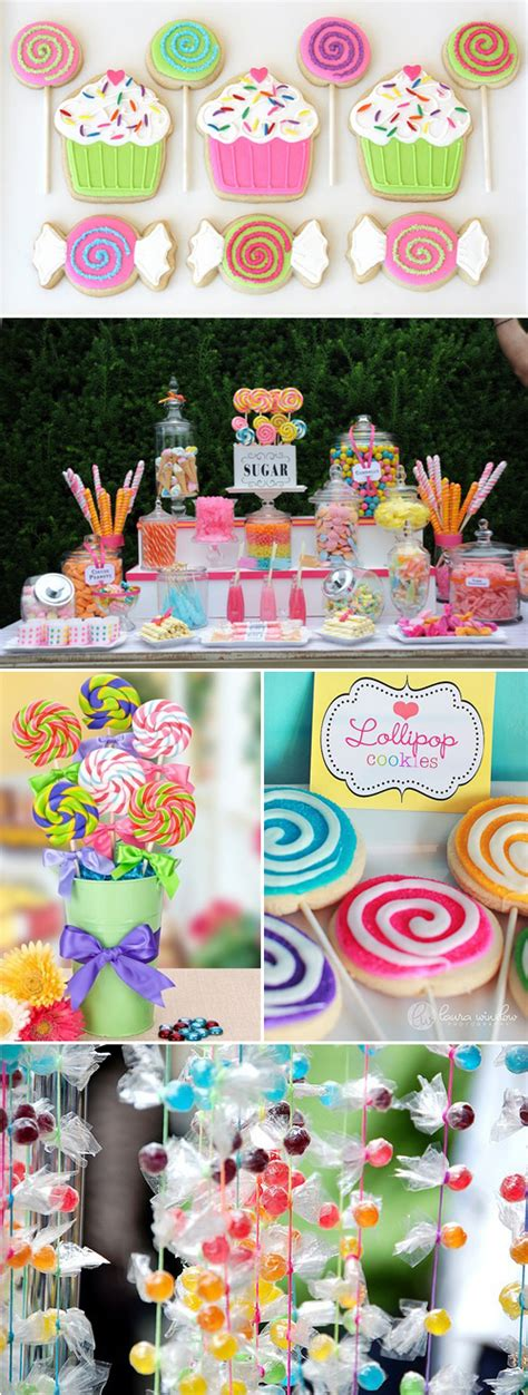 sweet themed event design a sweet candy theme party idea
