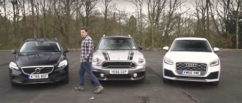 audi minivan mini countryman vs audi q2 vs volvo v40 cc is a premium
