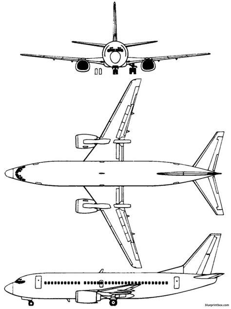 boeing 737 300 plan si鑒es boeing 737 300 2 plans aerofred free model