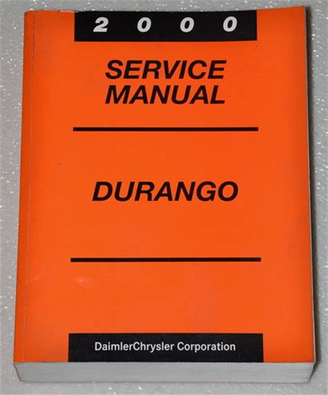2001 dodge durango factory shop service repair manual factory repair manuals 2000 dodge durango factory service manual original shop repair factory repair manuals