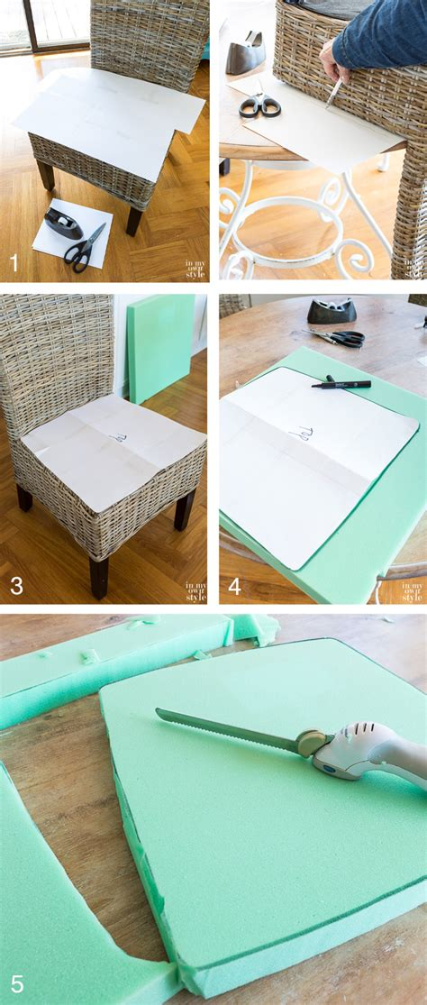 How To Make Kitchen Chair Pads by Diy Chair Cushions For My Kitchen In My Own Style