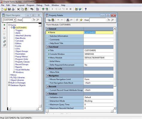 tutorial oracle report builder tutorial change module name in oracle forms 11g exles