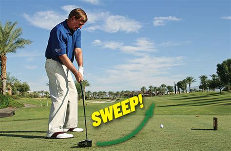 sweeping golf swing sweeping golf swing 28 images professional golf tip