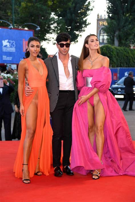 tania llasera wardrobe malfunction italian models suffer wardrobe malfunctions at the venice