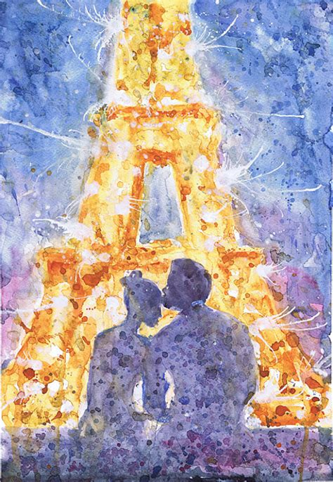 doodle god artifacts eiffel tower watercolor painting by valentina ra watercolor
