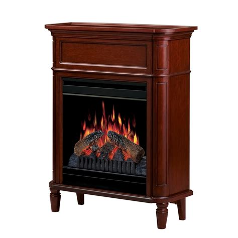 Lowes Dimplex Electric Fireplace by Shop Dimplex 31 In W Cherry Wood Electric Fireplace With