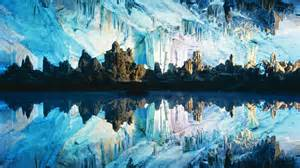 Reed Flute Cave China by Reed Flute Cave Unknown World
