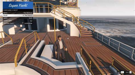 gta online s new yacht modded into single player gta 5 - Gta 5 Yacht Cheat Ps3