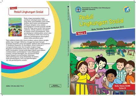 Buku Sd Tematik Kelas 4 Tema 4 buku tematik tema 4 kelas 3 kurikulum 2013