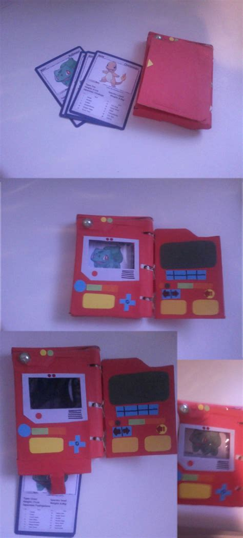 How To Make A Paper Pokedex - paper pokedex by ralal500 on deviantart