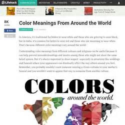 color meanings from around the world cristranslator pearltrees