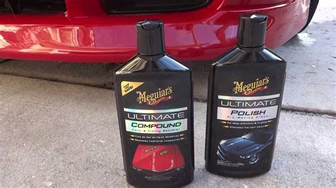 tutorial wax 2 0 results from meguiars ultimate compound polish and tech