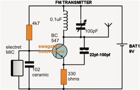 how to make inductor for fm transmitter circuits fm bug transmitters electronic circuit projects