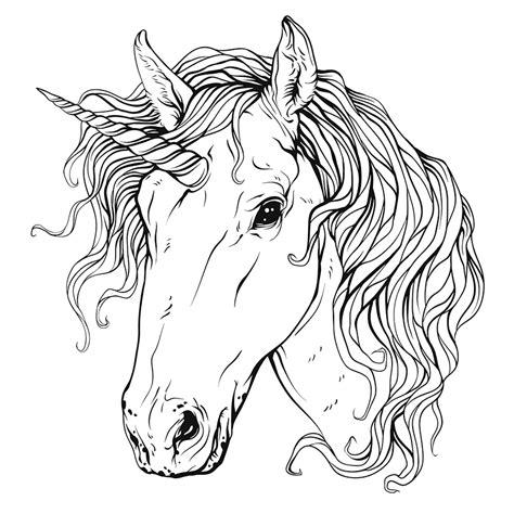 coloring pages of horses heads 87 coloring pages unicorn head pin the horn on