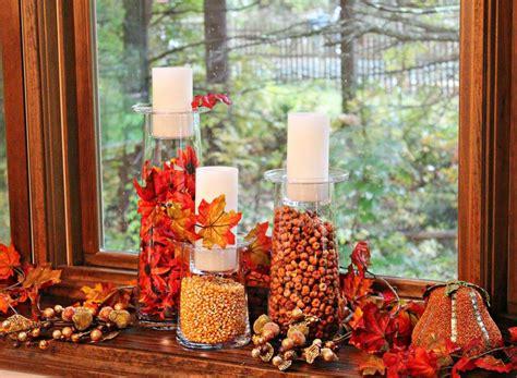 Ordinaire Fenetre Decoration Interieur #4: bricolage-facile-d%C3%A9co-fen%C3%AAtre-automne-Halloween-mais-feuilles.jpg
